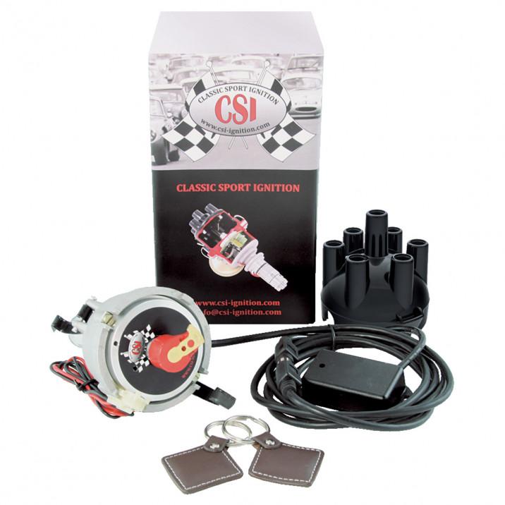 CSI-Ignition Distributor & Immobiliser, Tuned, 23D6, negative earth, electronic tacho