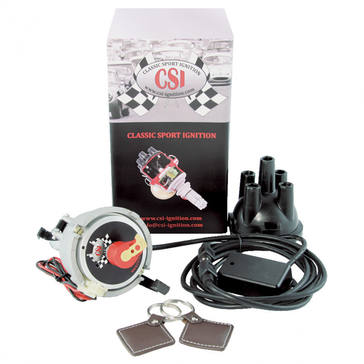 CSI-Ignition Distributor & Immobiliser, Tuned, 23D4, negative earth