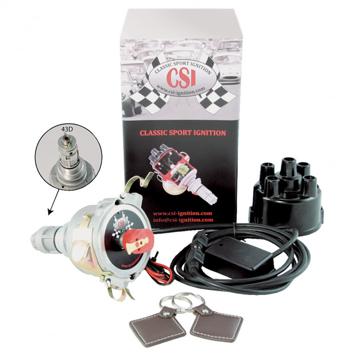 CSI-Ignition Distributor & Immobiliser, Tuned, 43D4, negative earth