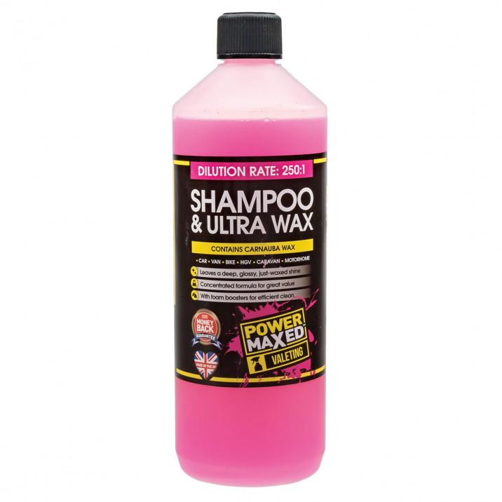 Shampoo & Ultra Wax 1L