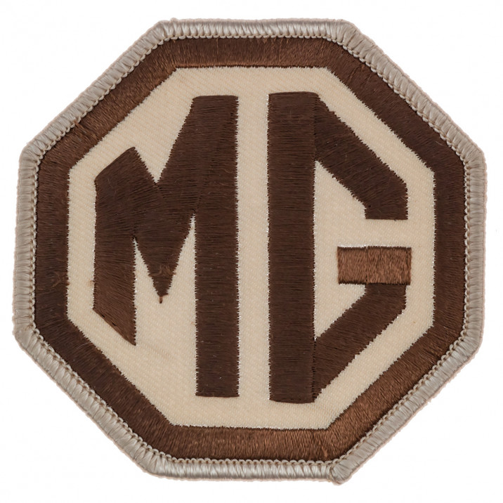 Patch, MG Octagon, embroidered