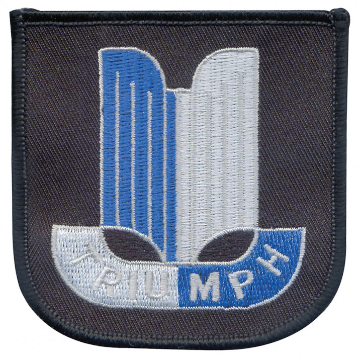 Patch, Triumph, embroidered