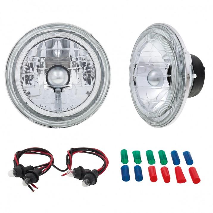 Headlamp Kits - Crystal Halogen (No Dipping)