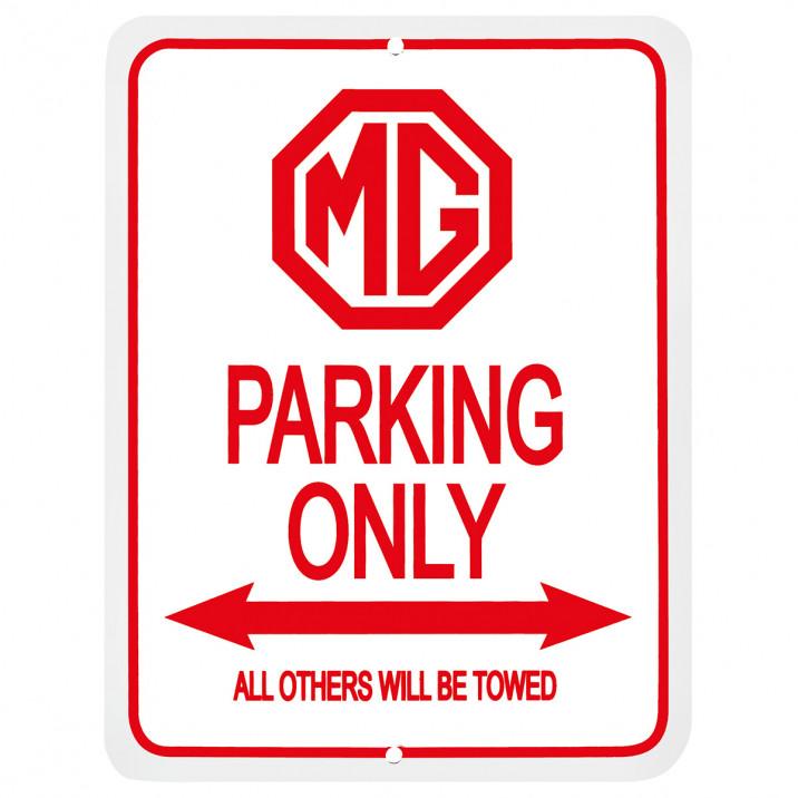 Parking Sign, MG Octagon
