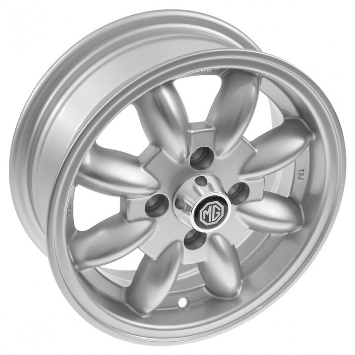 Minator 8 Spoke Alloy Wheels - Morris Minor