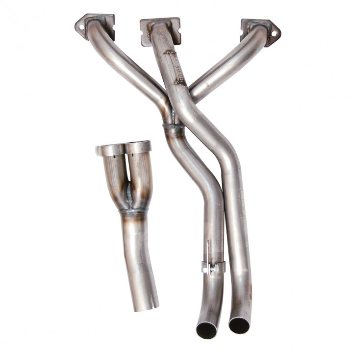 Manifold, exhaust, LCB, mild steel