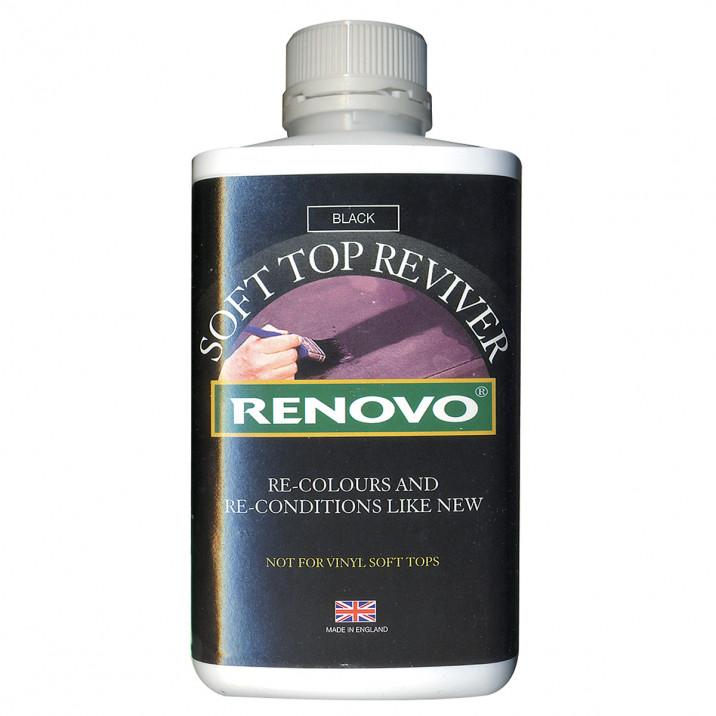 Renovo Soft Top Reviver, Black, 500ml