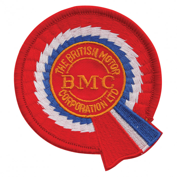 Patch, BMC, round, embroidered