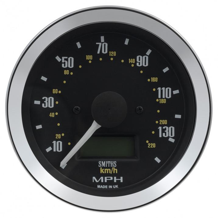 Gauge, speedo, electronic, 0-140mph, 80mm