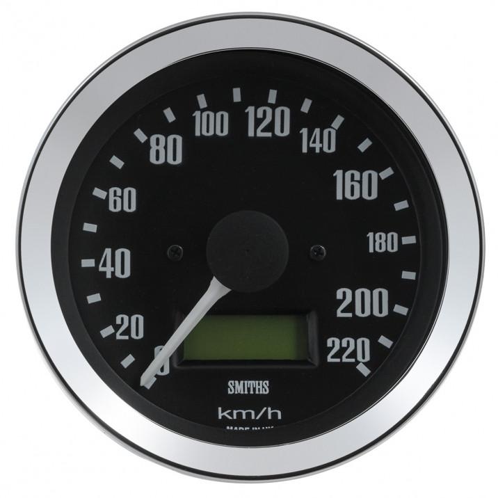 Gauge, speedo, electronic, 0-240kph, 80mm