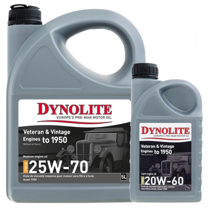 Dynolite Prewar Engine Oils