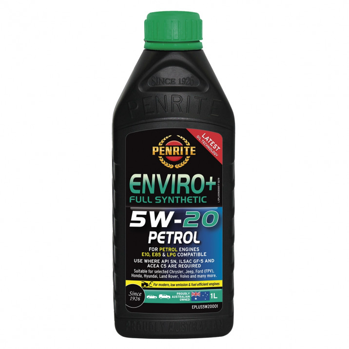 Penrite Enviro+ Fully Synthetic Oil, 5W/20, 1l