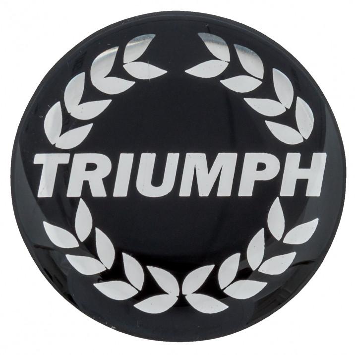 Badge, centre cap, Triumph Wreath
