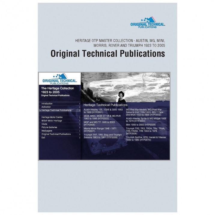 OTP Heritage Collection Set (USB/Online)