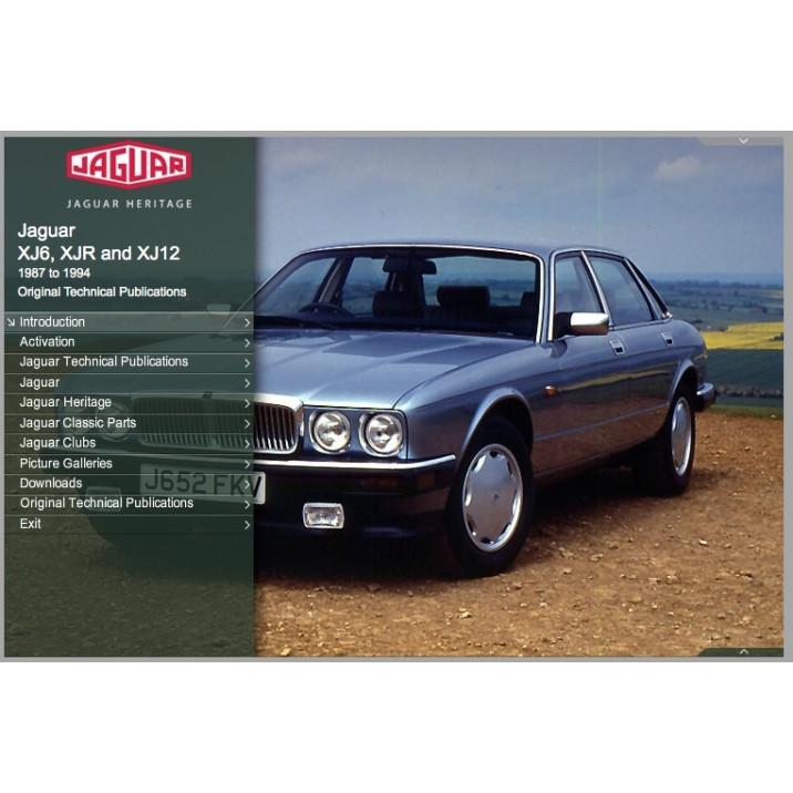 OTP Jaguar XJ40 XJ6, XJR & XJ12 (1987-1994) (USB Portable)