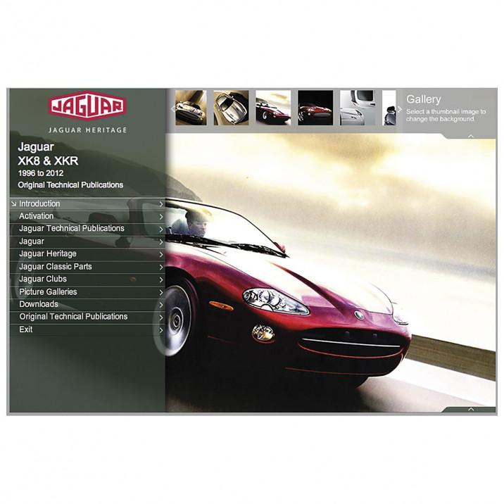 OTP Jaguar X100 & X150 XK8, XK & XKR (1996-2011) (USB Portable)