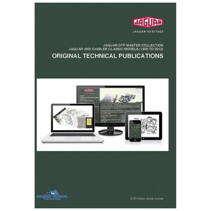 OTP Jaguar Master Collection, Jaguar & Daimler Classic Models (1935-2011) (USB/Online)