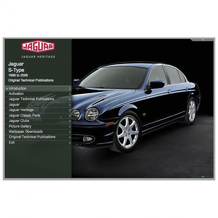 OTP Jaguar S-Type (1998-2008) (USB Portable)