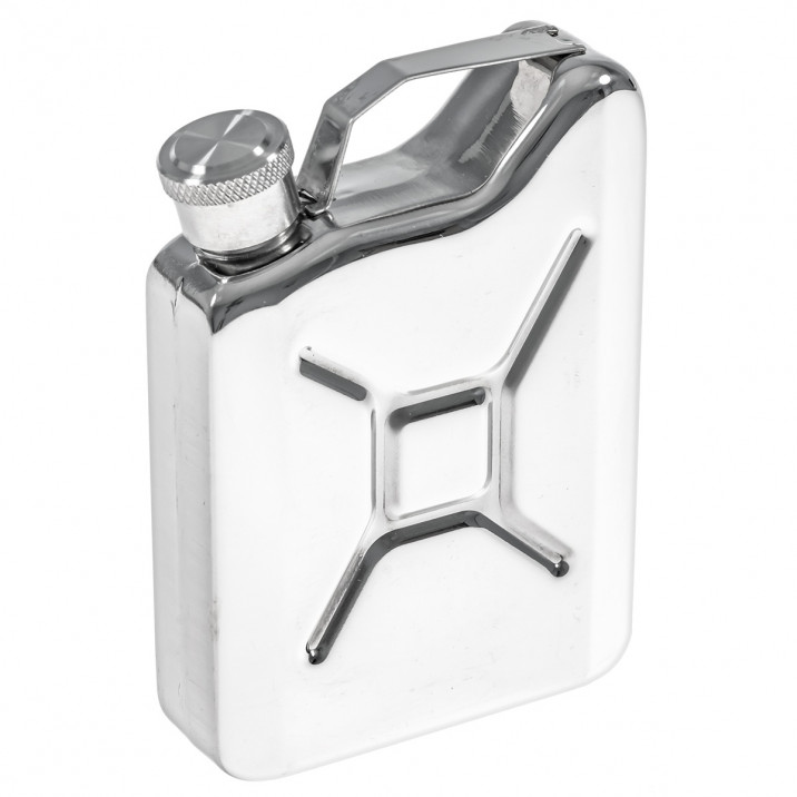 Hip Flask, petrol can
