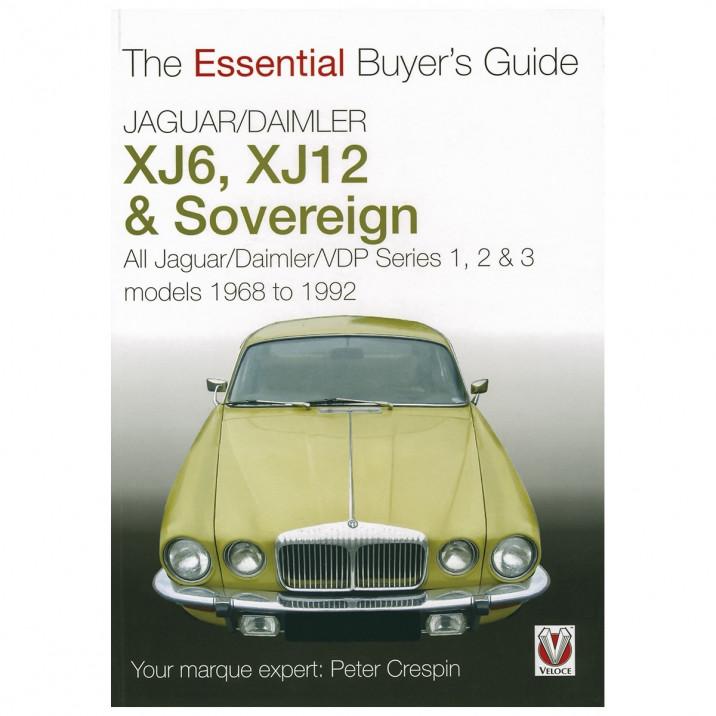 Essential Buyers Guide Jaguar/Daimler XJ6 XJ12, book
