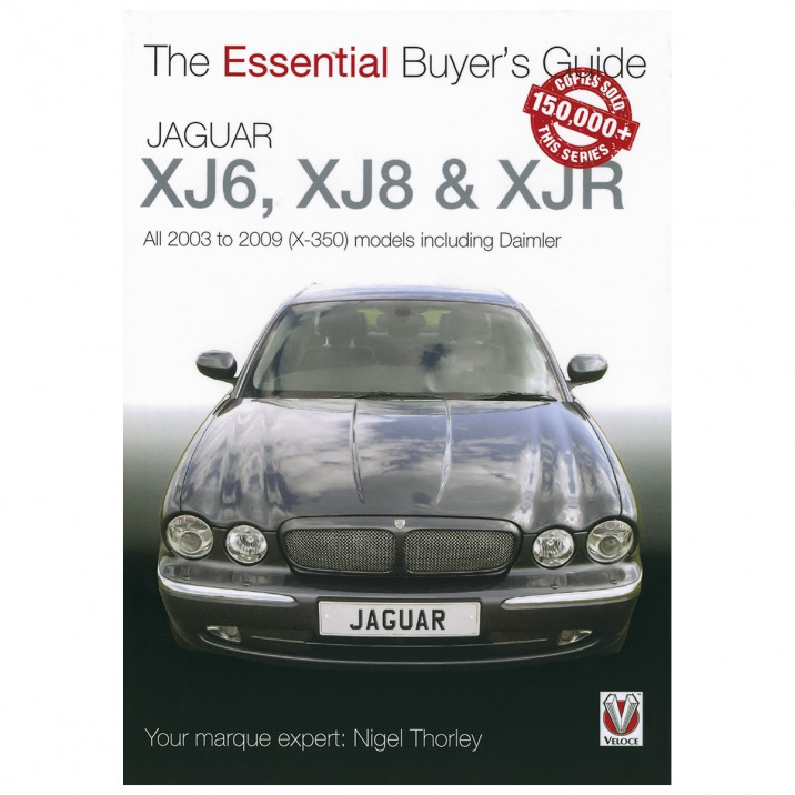 Essential Buyers Guide Jaguar/Daimler XJ X350 2003-09, book