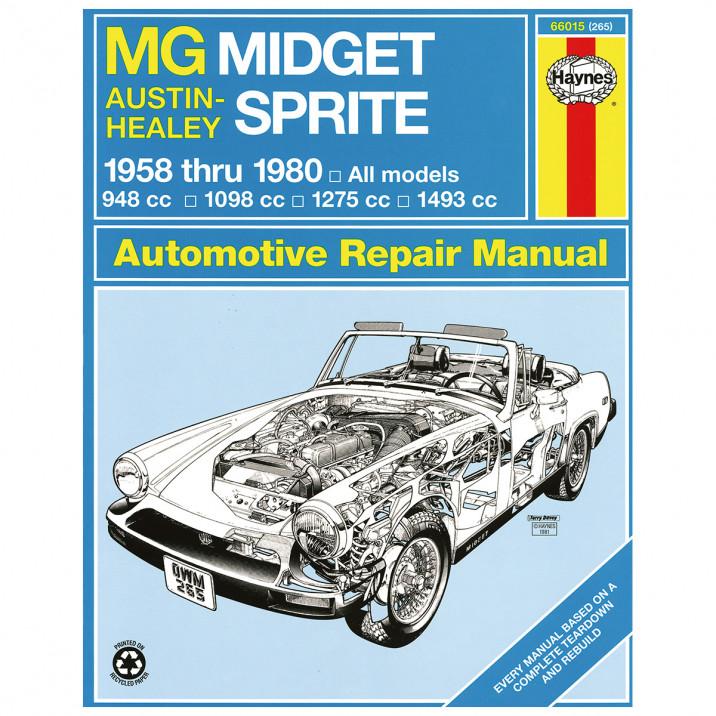 Haynes Workshop Manual, Sprite & Midget