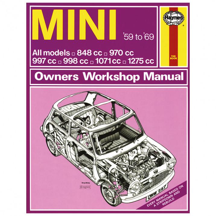 Haynes Workshop Manual, Classic Mini 1959-69