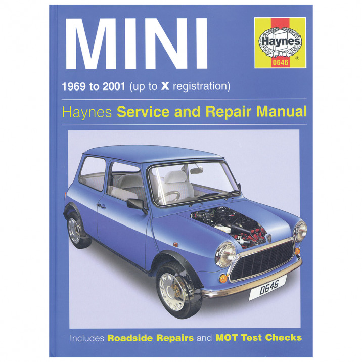 Haynes Workshop Manual, Classic Mini 1969-01