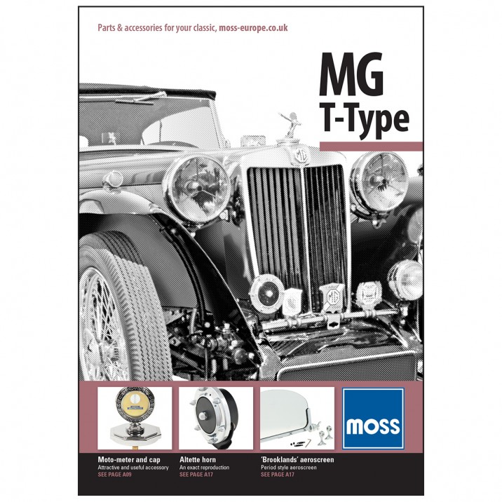 mg midget parts catalog
