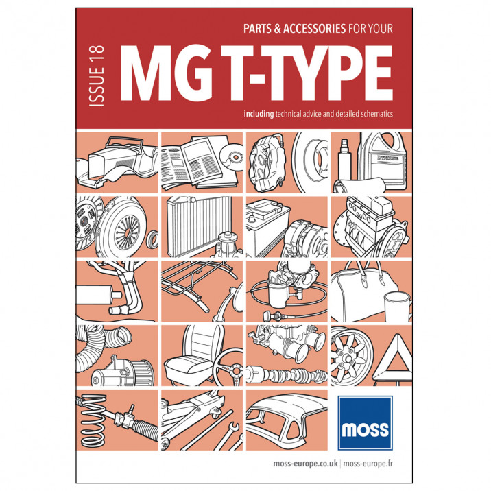 MG T-Type Parts Catalogue