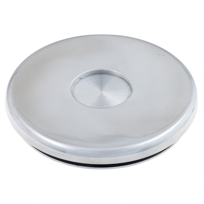 Centre Cap, polished aluminium