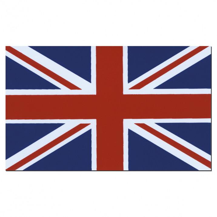 Badge, Union Jack, magnetic, each