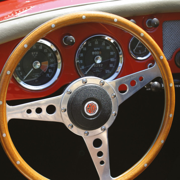 Moto-Lita Steering Wheels - Morris Minor