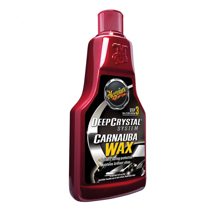 Meguiar's Deep Crystal Carnauba Wax Step 3, 473ml