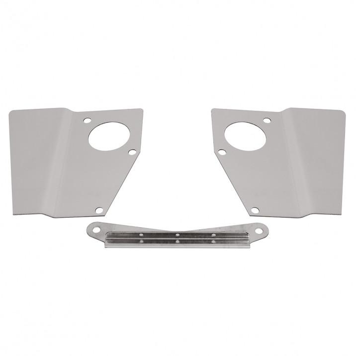 Heat Shield Set, HS4, carburettors, stainless steel, pair