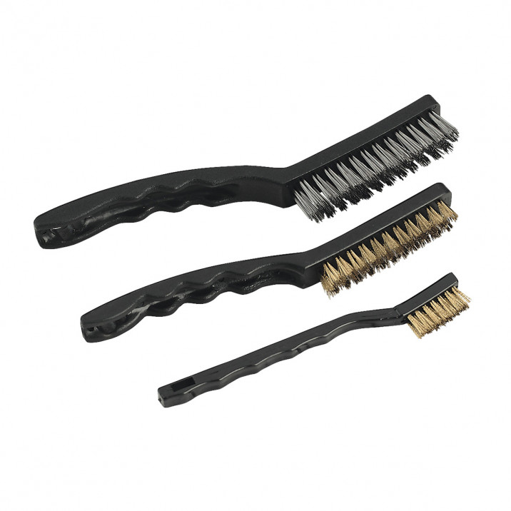 Wire Brush Set, 3 piece