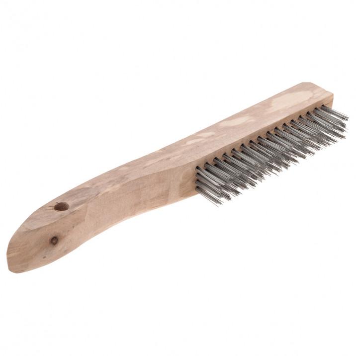 Wire Brush, 4 row