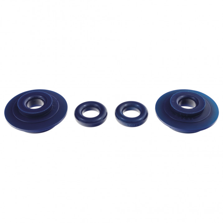 Bush Set, differential mounting/void fillers, rear, polyurethane
