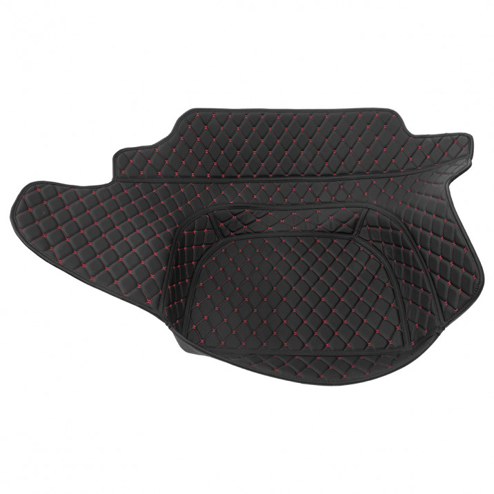 Quilted Boot Liner, black with black stitching, CarbonMiata