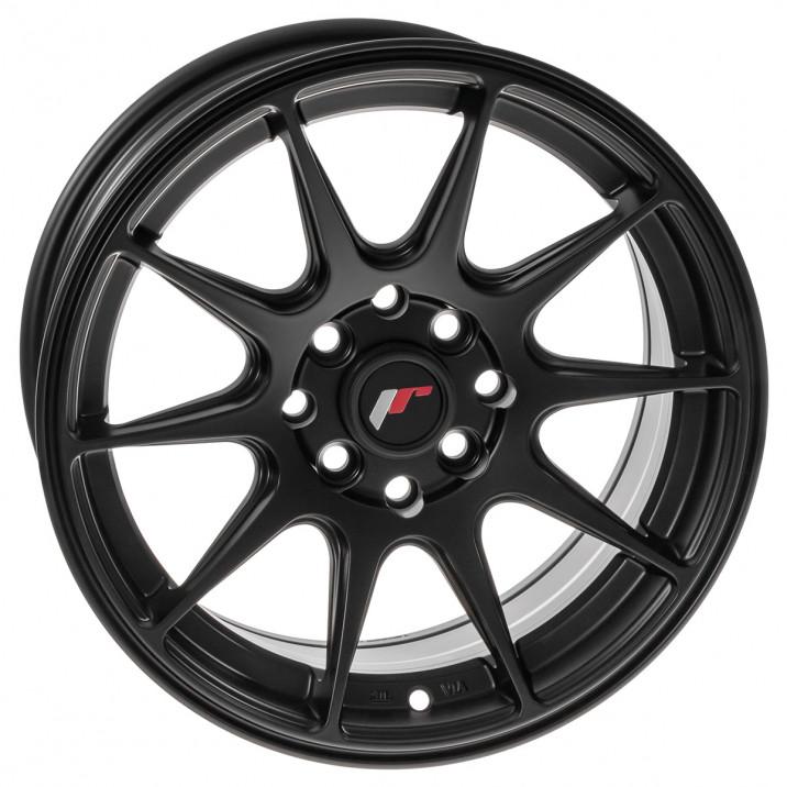 """Wheel, JR11, 15"""" x 7"""", ET30, matt black"""