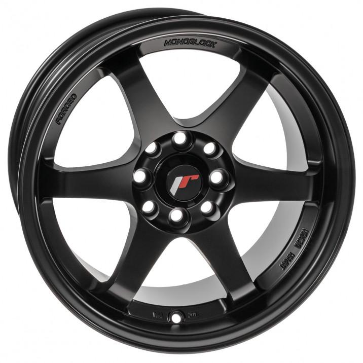 """Wheel, JR3, 15"""" x 8"""", ET25, matt black"""