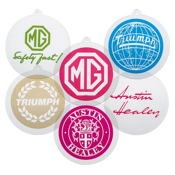 Marque Sun Catcher Ornaments