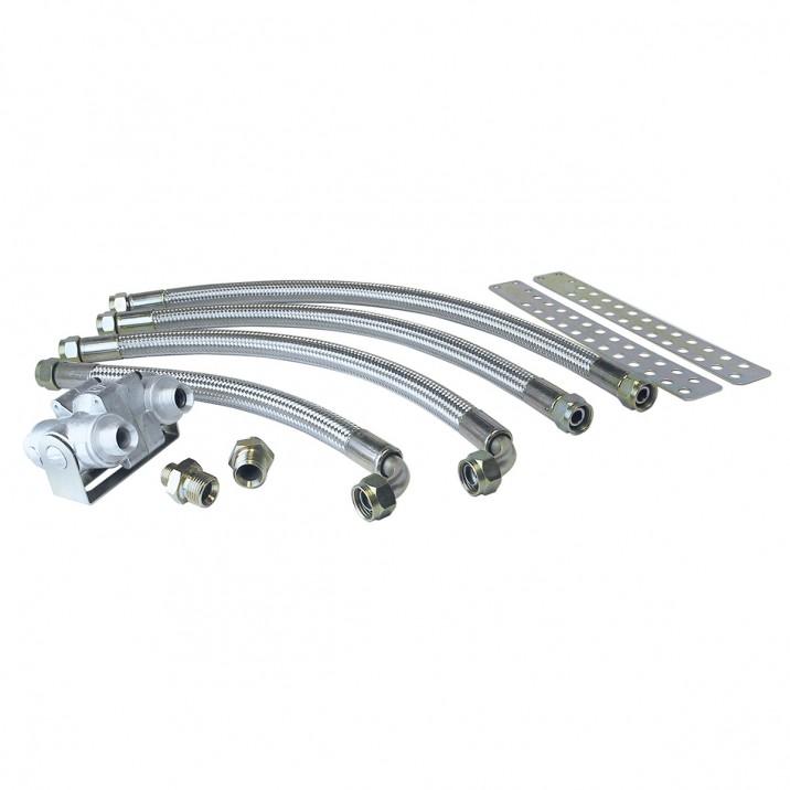Oil Cooler Installation Kits - Sprite & Midget