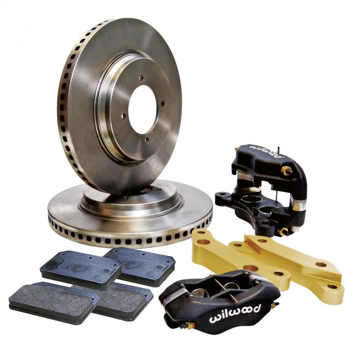 4 Pot Caliper Brake Conversion Kit - Vented