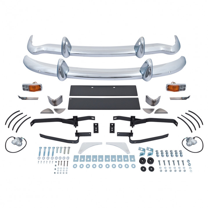 Chrome Bumper Conversion Kits - MGB