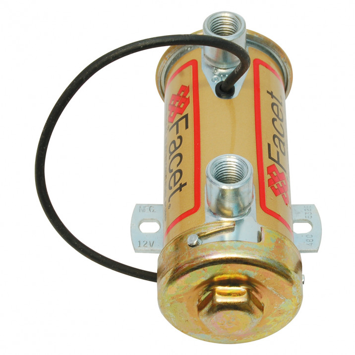 Facet Fuel Pump, cylindrical, competition, Red Top above 200 bhp