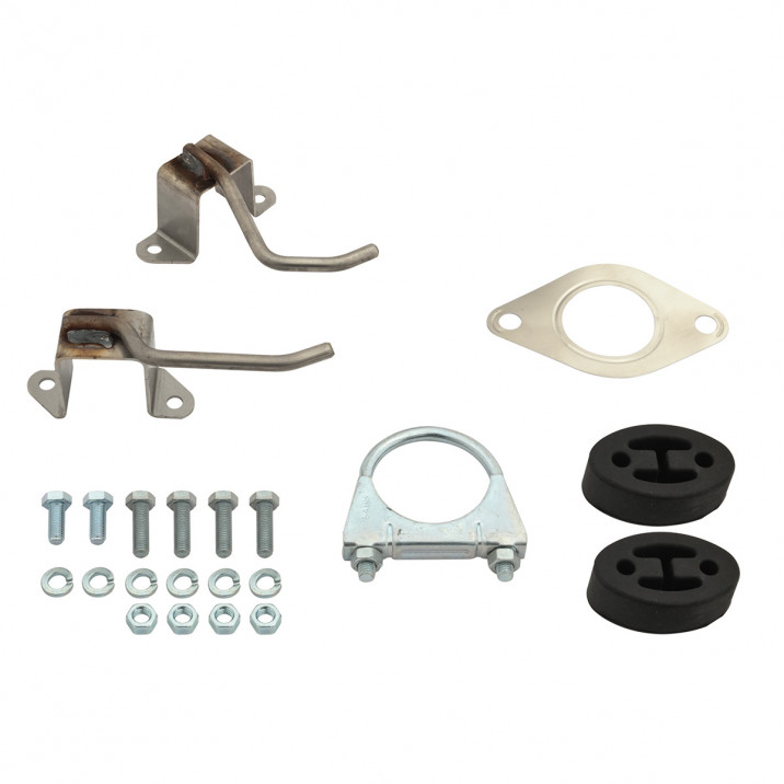 Fitting Kit, exhaust, side exit