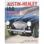 Austin-Healey 100 In Detail, 176 page book