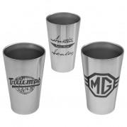 Marque Logo Pint Cups
