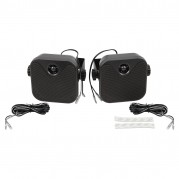 Speakers, RetroSound, surface mount, 2 way, pair